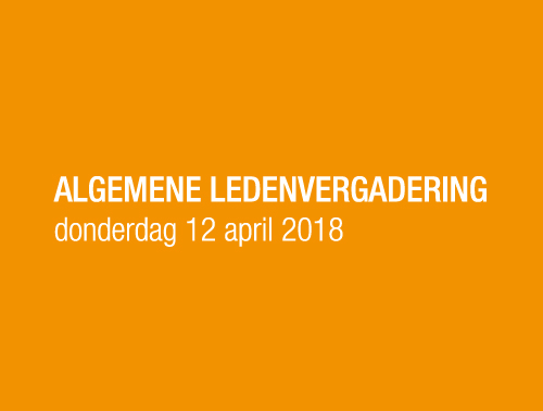 ALV in Oma's Kamer: donderdag 12 april 2018