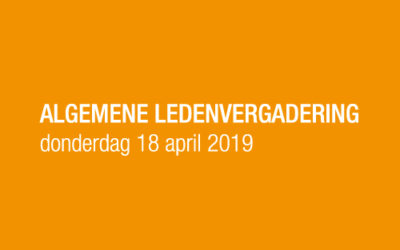 ALV in Oma's Kamer: donderdag 18 april 2019